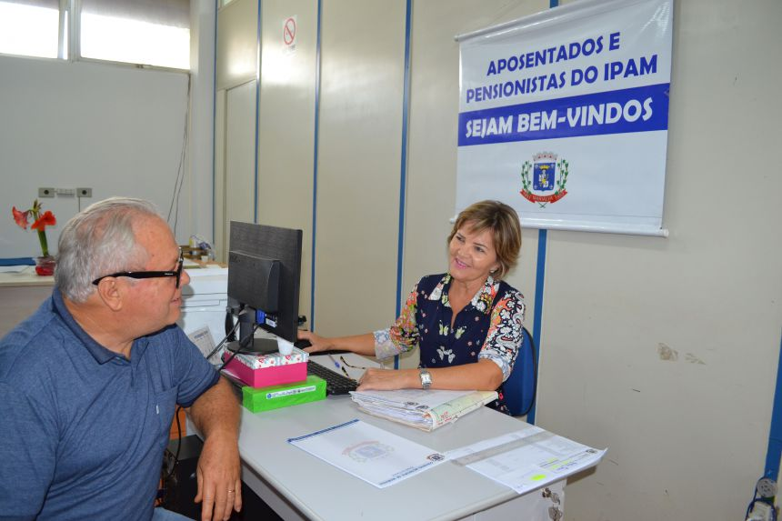 IPAM promove recadastramento dos aposentados e pensionistas do município
