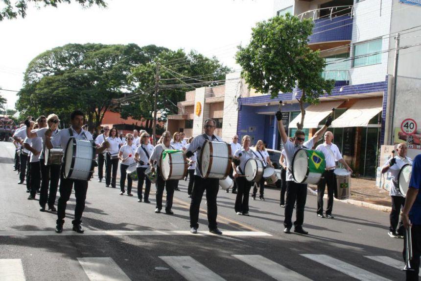 Fanfarra dos Veteranos de Marialva irá tocar no evento de 72 anos de Maringá