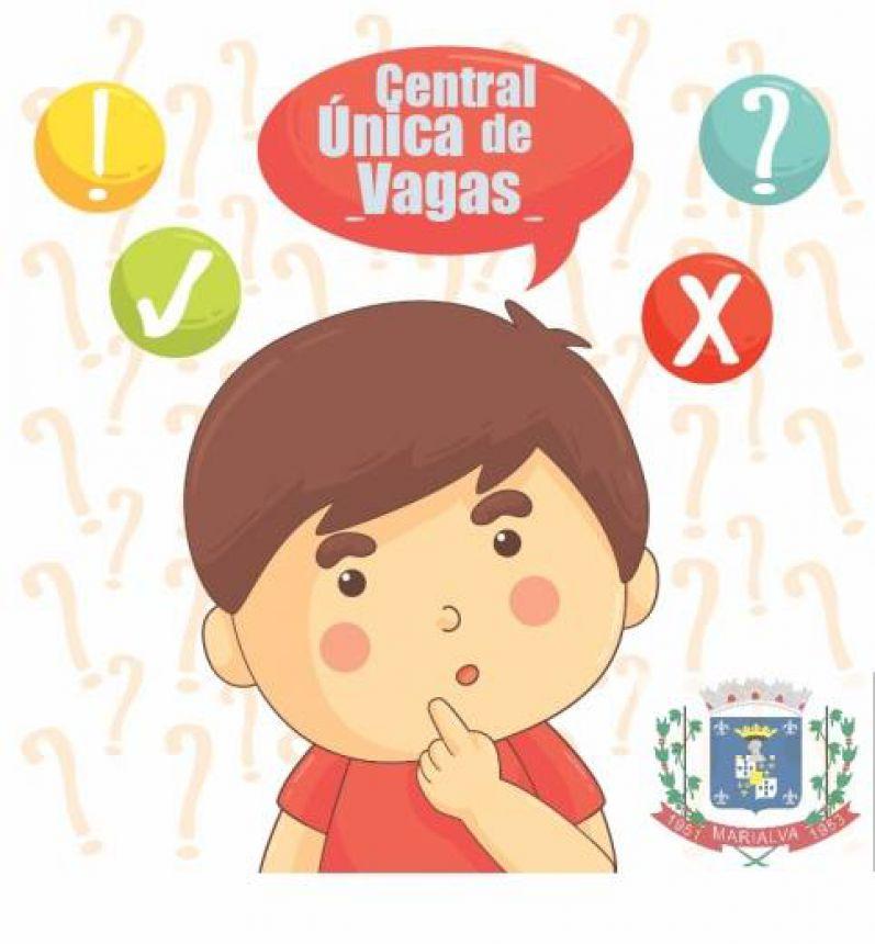 Central Única de Vagas procura pais da lista de espera