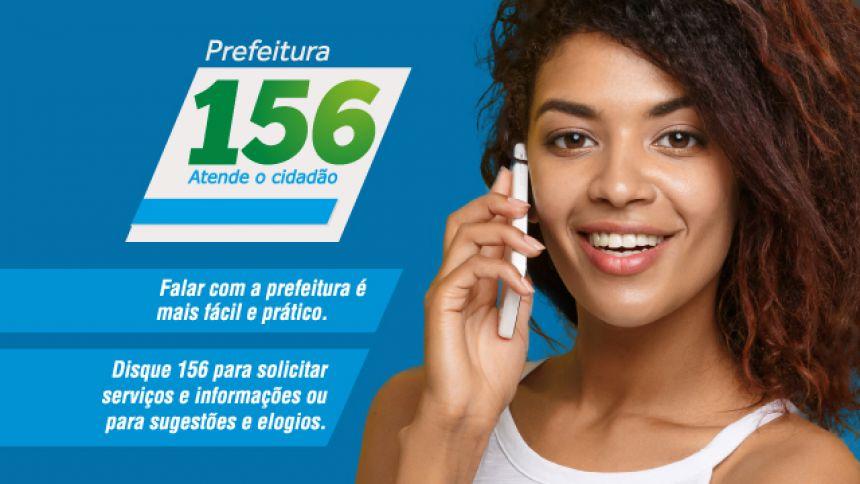 Serviço 156 será agora todo integrado com os setores envolvidos, agilizando o atendimento às demandas da população
