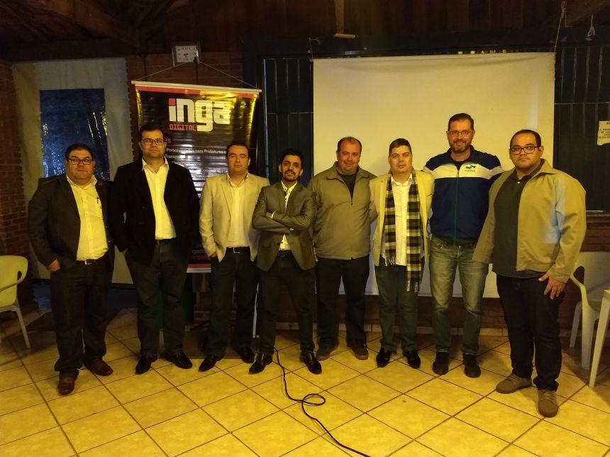 Aplicativo é apresentado para representantes de times de Marialva