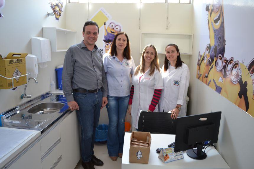 Saúde inaugura mais uma sala de vacina