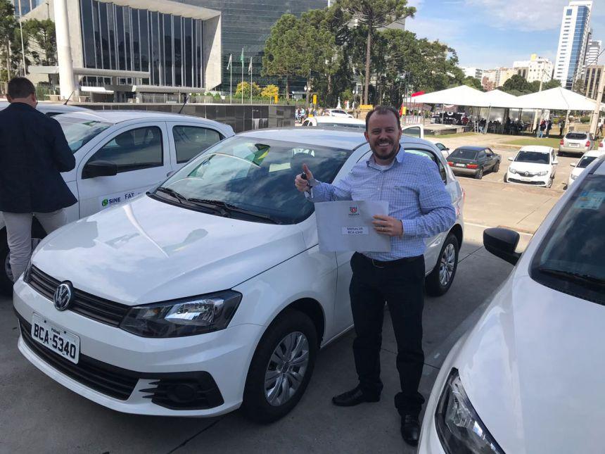 Agência do Trabalhador de Marialva recebe veículo novo