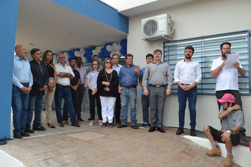 Prefeitura inaugura nova UBS Regência