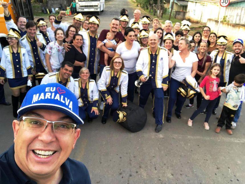 Fanfarra dos Veteranos de Marialva conquista título nacional