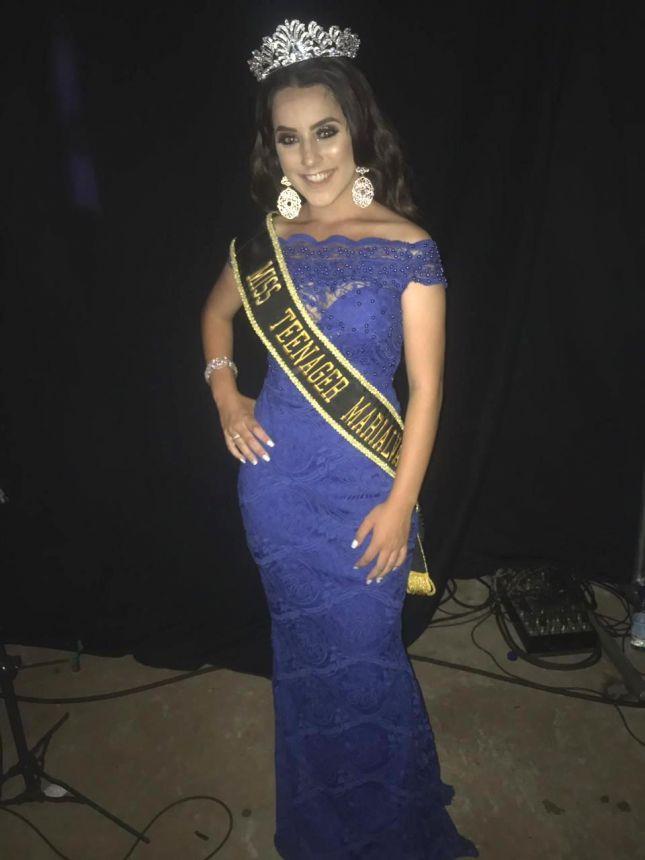 Miss Teenager Marialva 2019 é coroada em Ubiratã-PR