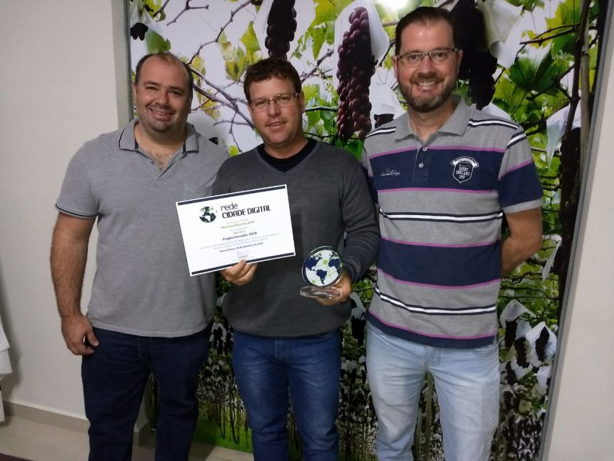 Aplicativo de Marialva é premiado pela Rede Cidade Digital