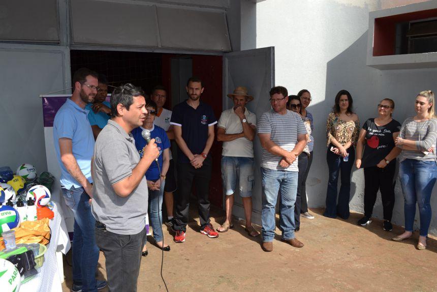 O vereador Luciano da Silva Dario relembra sua trajetória como ex-atleta.