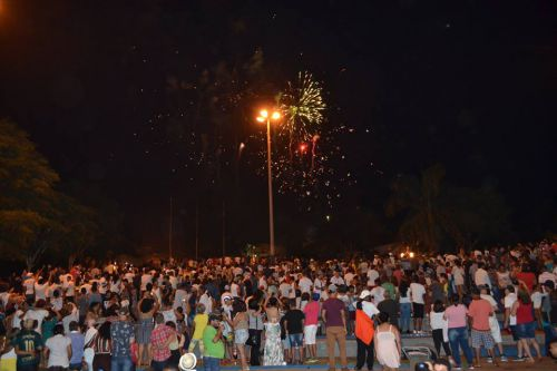 Réveillon Popular de Marialva é um sucesso e recolhe mais de mil garrafas