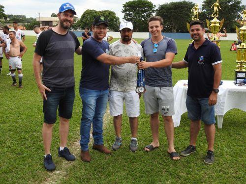A equipe do Cambuí se sagrou a grande campeã do Campeonato Municipal de Futebol de Marialva de 2019