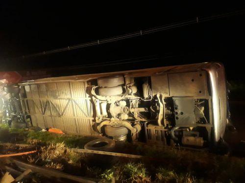 Lamentamos o acidente com o ônibus ocorrido em Marialva