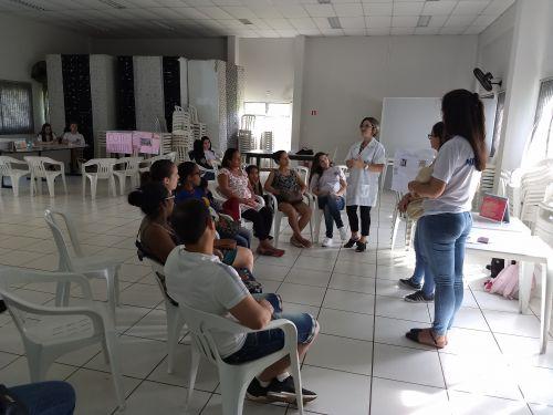 CRAS realiza atividade socioeducativa com gestantes