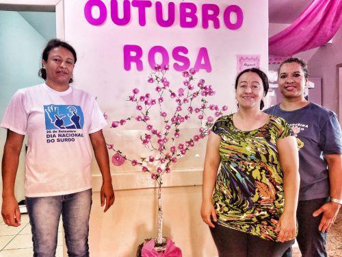 """Saúde inicia campanha """"Outubro Rosa"""" em Marialva"""