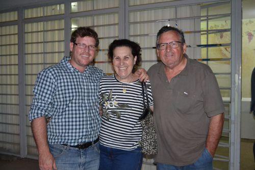Os pais do prefeito prestigiaram o evento
