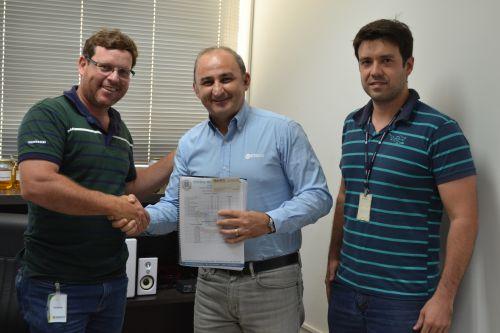 Autoridades municipais são recebidas na BSBios para celebrar convênio