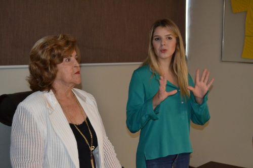 Deputada federal mais jovem do Brasil, Luisa Canziani visita Marialva