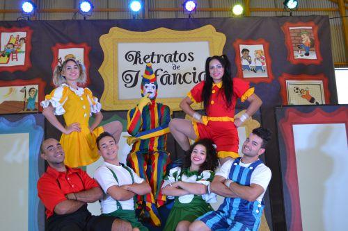 Apresentação de teatro e circo marca a campanha de combate ao trabalho infantil em Marialva