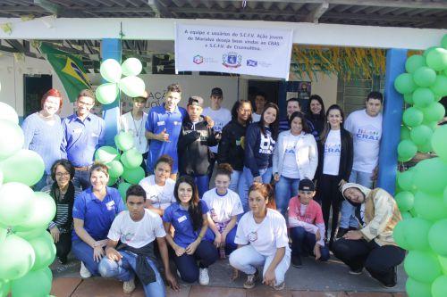 Trabalho do Ação Jovem é exemplo para outras cidades