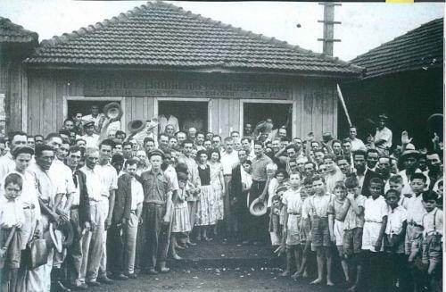 Comemoração da eleição de Francisco Silveira da Rocha à Assembléia Legislativa, 1950.