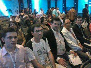 Secret�rio da Administra��o, Luis Carlos Mendes Jr; Contador da Prefeitura, Luciano Roik; Presidente Makuch e Controlador Interno da C�mara, Rubens Woidelo.