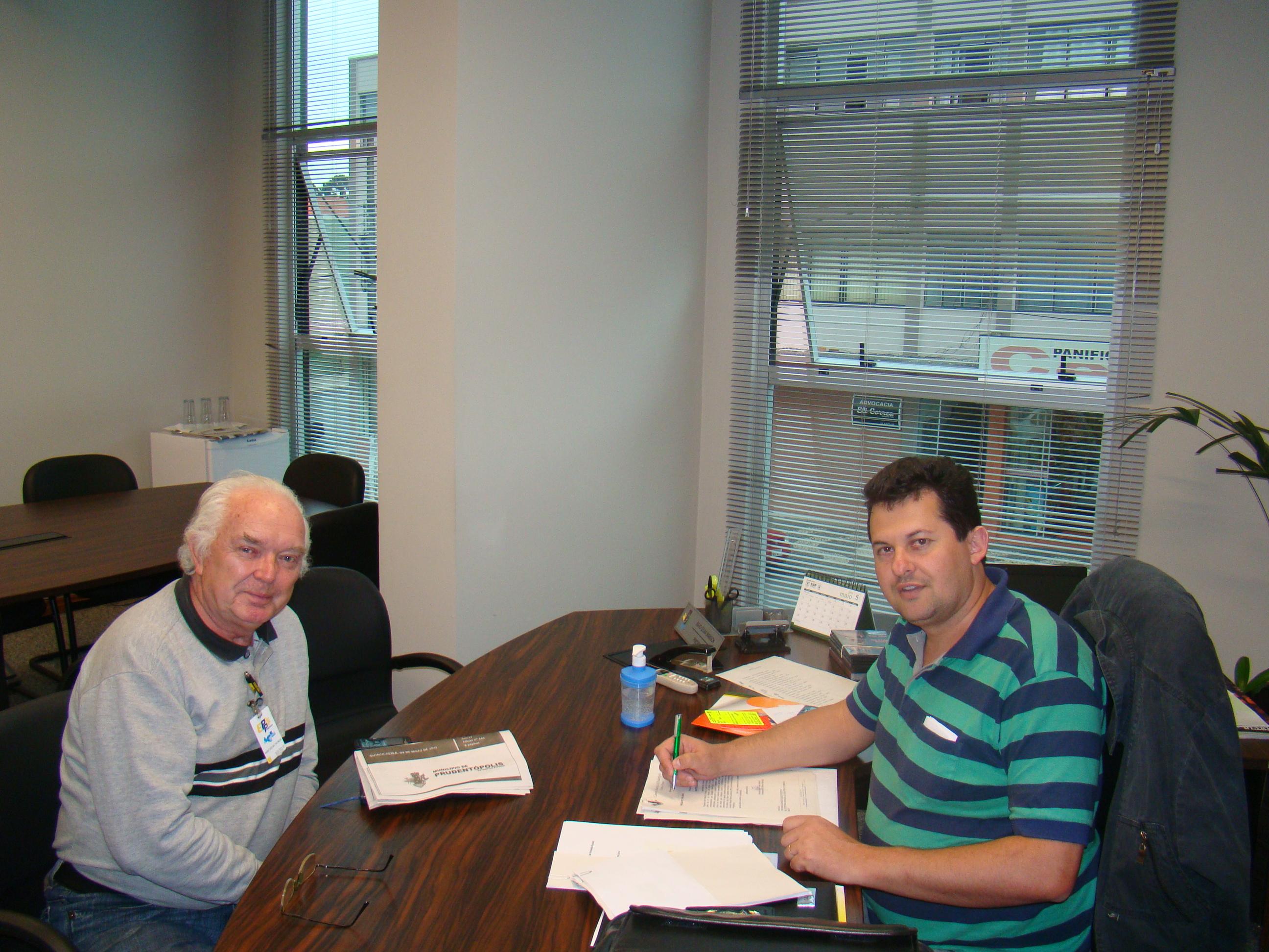 Miecislau Surek informou sobre a possibilidade de in�cio das obras da PCH Conflu�ncia ainda em 2013.