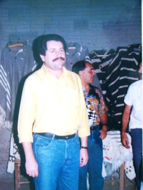 Presidente Edgard Pilati na abertura da Feira de Malhas e Mostra de Ovinos