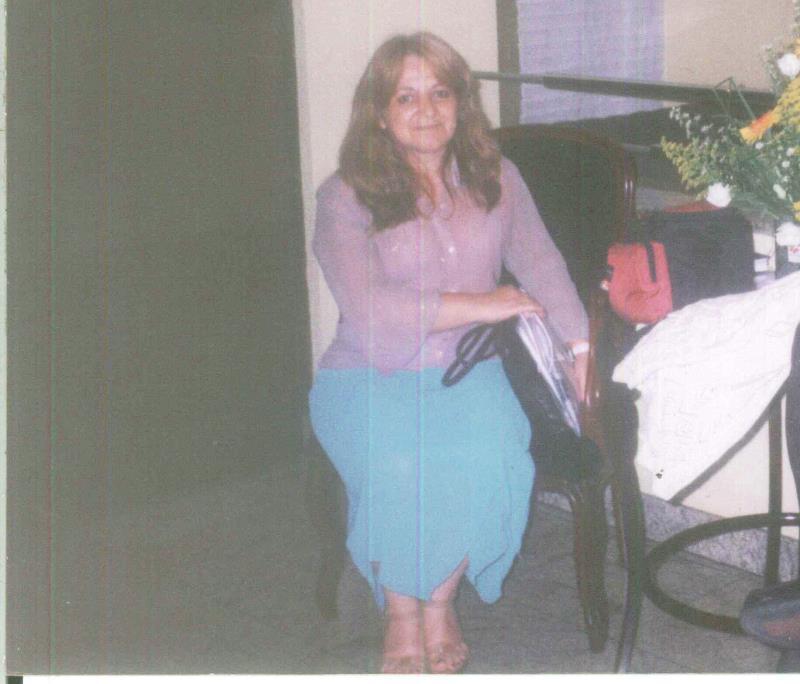 Enfermeira Maria Angela Machado, a