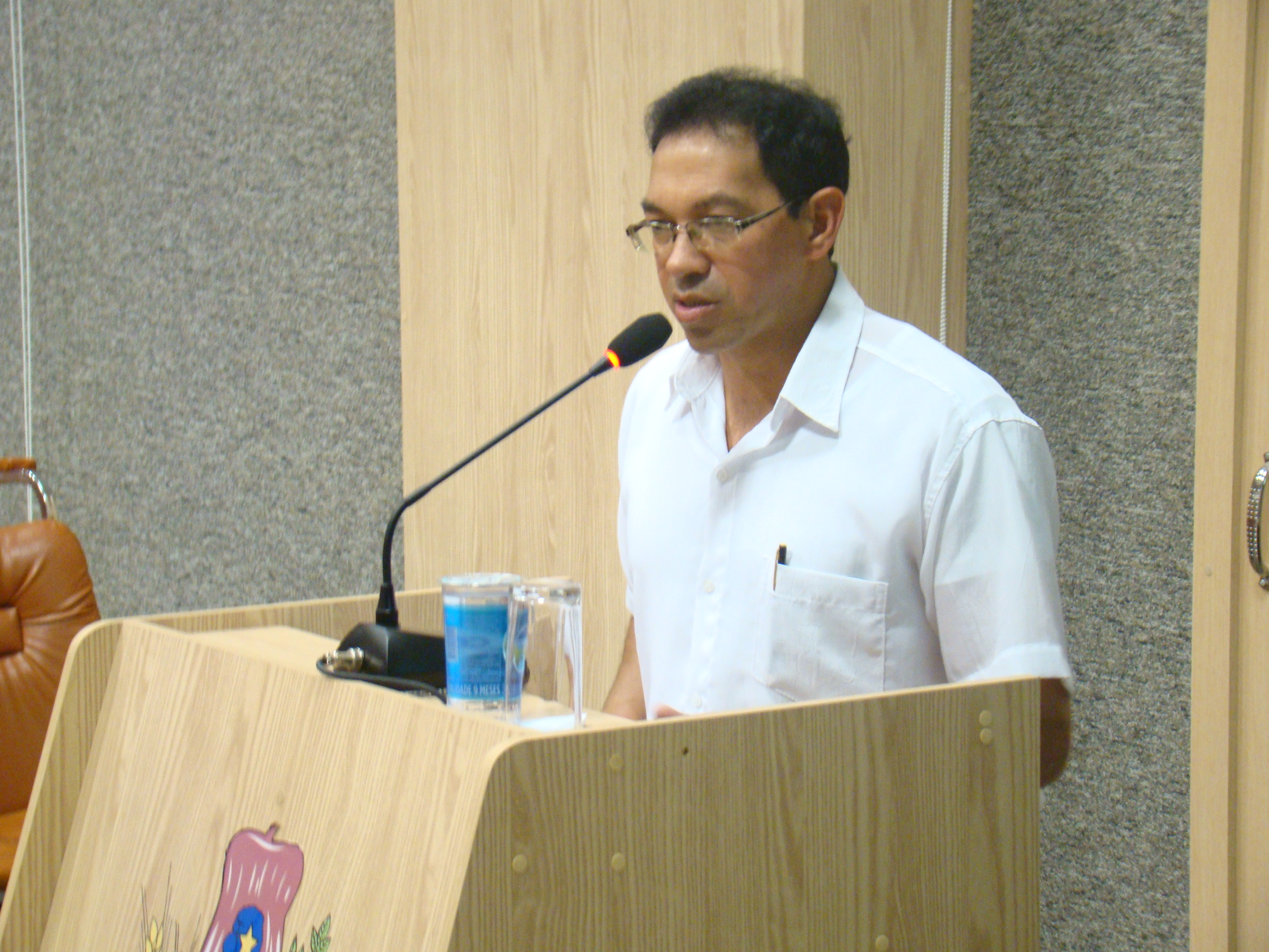 Evangelista Jos� Pereira do AVelar falou sobre a comemora��o do Dia do Evang�lico.