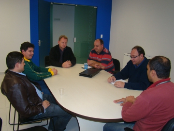 Alex Garcia e Jo�o Batista reuniram-se com vereadores para expor metas e programas de trabalho do conselho