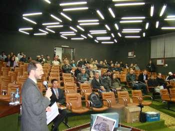 Vander Moreno, faz a apresenta��o da Agenda Parlamentar aos Vereadores