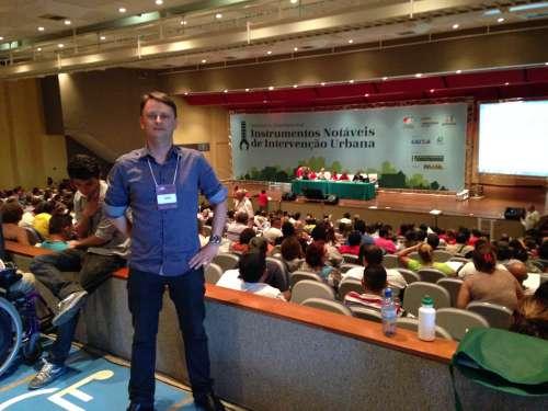 Representante do Paran� na Confer�ncia, Luciano destaca a import�ncia das quest�es discutidas no encontro