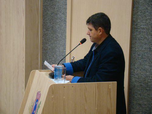 Vereador Professor Marcos destacou varios pontos abordados pela camara