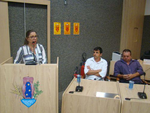 Advogada Vera Regina Grande de Moura Cordeiro faz a defesa do Vereador Krik