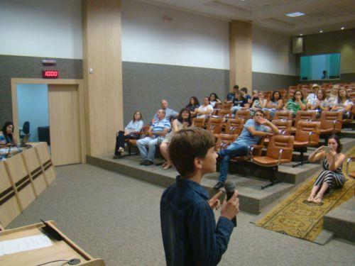 Allan fez apresenta��o do projeto aos vereadores