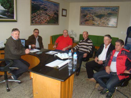 Assuntos de import�ncia foram discutidos pessoalmente com o prefeito