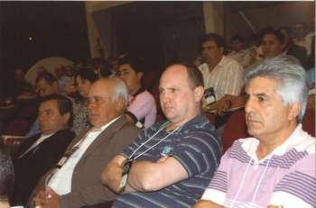Vereador Pedro Denczuk Filho, presidente da Acamcespar, no encontro em Bras�lia.