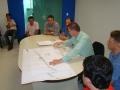 Engenheiro Sandro Villas Boas Dellatorre exp�e as altera��es promovidas no projeto