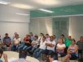 Lideran�as de v�rios segmentos, al�m de moradores e empres�rios estiveram na reuni�o para acompanhar os detalhes