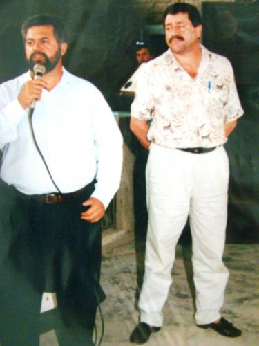 Dr. Francisco Carlos Jorge, Juiz de Direito e Presidente Edgard durante cerim�nia