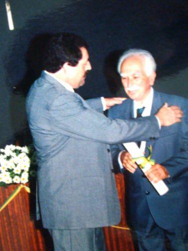 Presidente Edgard entrega homenagem ao farmac�utico Jo�o Olimpio Pachego