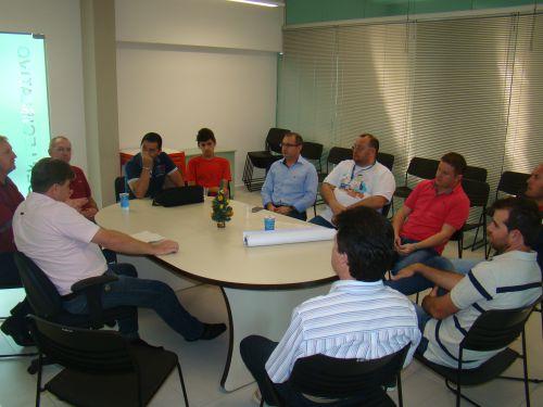 Vereadores Valdir Krik, Maur�cio Bosak e Marcos Vin�cio participam da comiss�o organizada