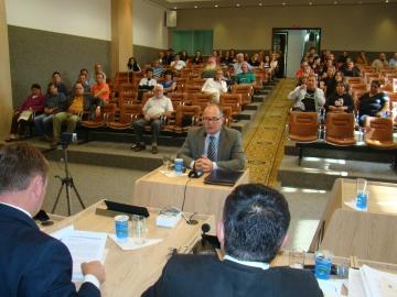 Testemunha Roberto C�sar Pinto presta depoimento � CP