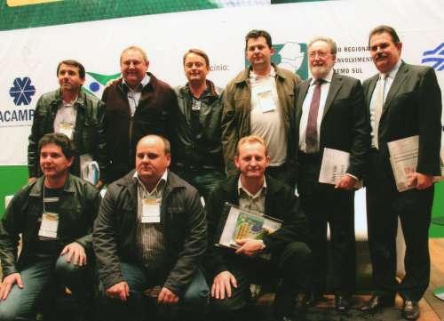 Vereadores acompanhados do Secretário de Governo Cézar Silvestre.