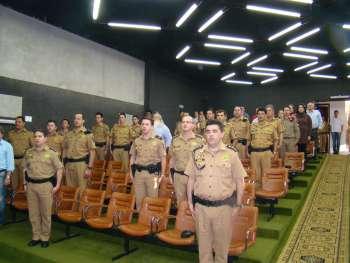 Conseg e Companhia da Pol�cia Militar trabalham em parceria constante, propiciando melhor seguran�a.