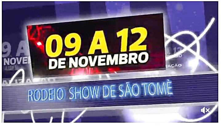 12º RODEIO SHOW SÃO TOME 2017