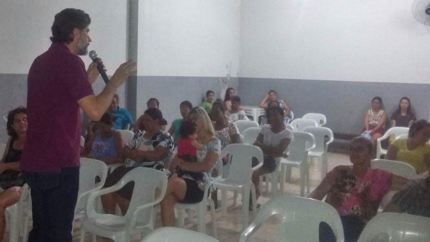 Prefeitura  promove encontro com beneficiados do bolsa família