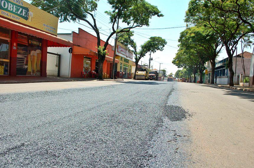 Prefeitura inicia recuperação e melhoria nas vias publica