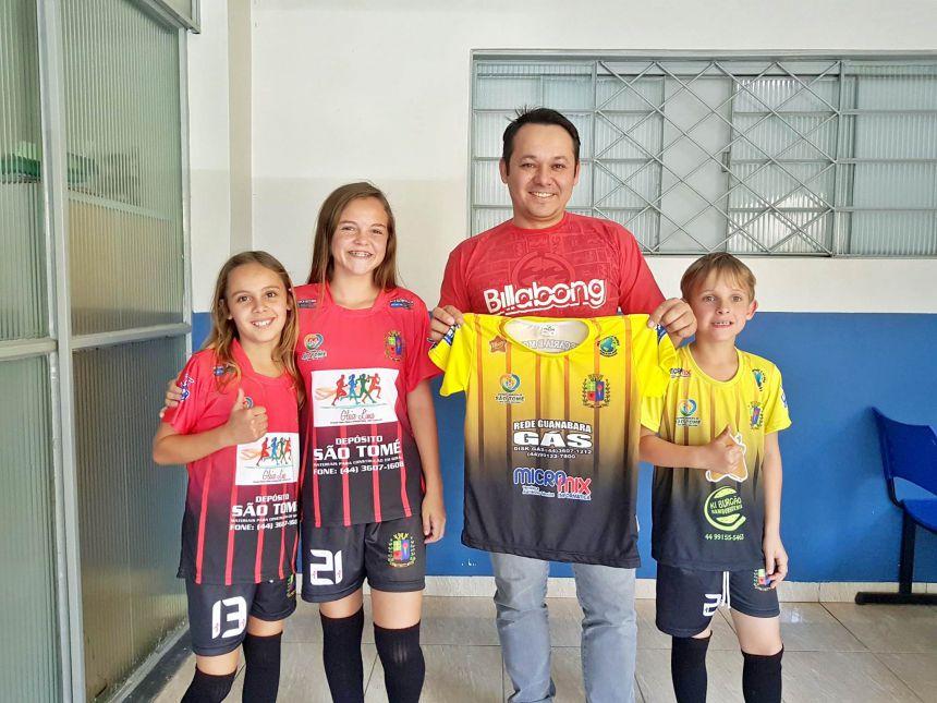 Empresas locais e regionais apóiam o esporte de São Tomé