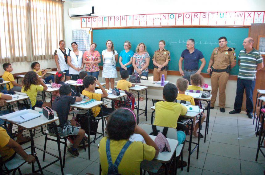 Administração de São Tomé e policia militar iniciam curso do PROERD
