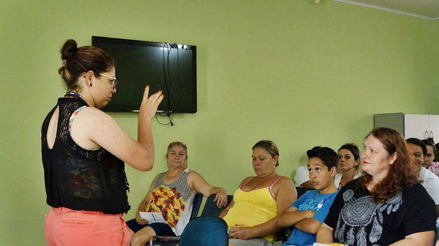 CRAS de São Tomé promove palestra motivacional